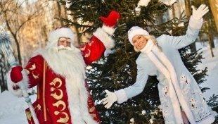В парке «Ривьера» открылась резиденция Деда Мороза