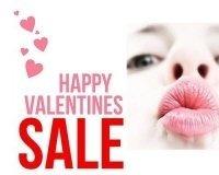 В интернет-магазине ideя устраивают распродажу ко Дню святого Валентина