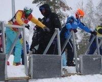 На «Солнечной долине» завершилось первенство юниоров России по сноуборд-кроссу