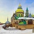 Экскурсия в Раифу+остров Свияжск+Храм Всех Религий