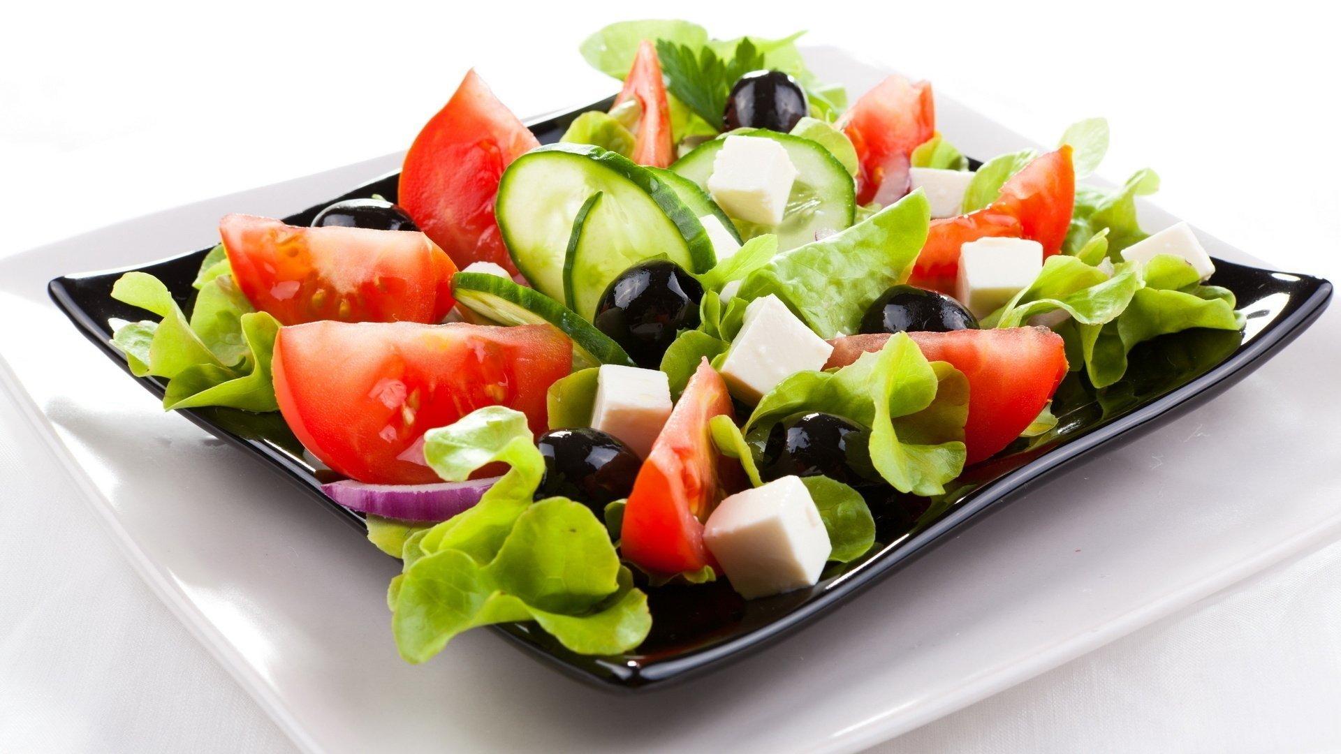 греческий салат бесплатно