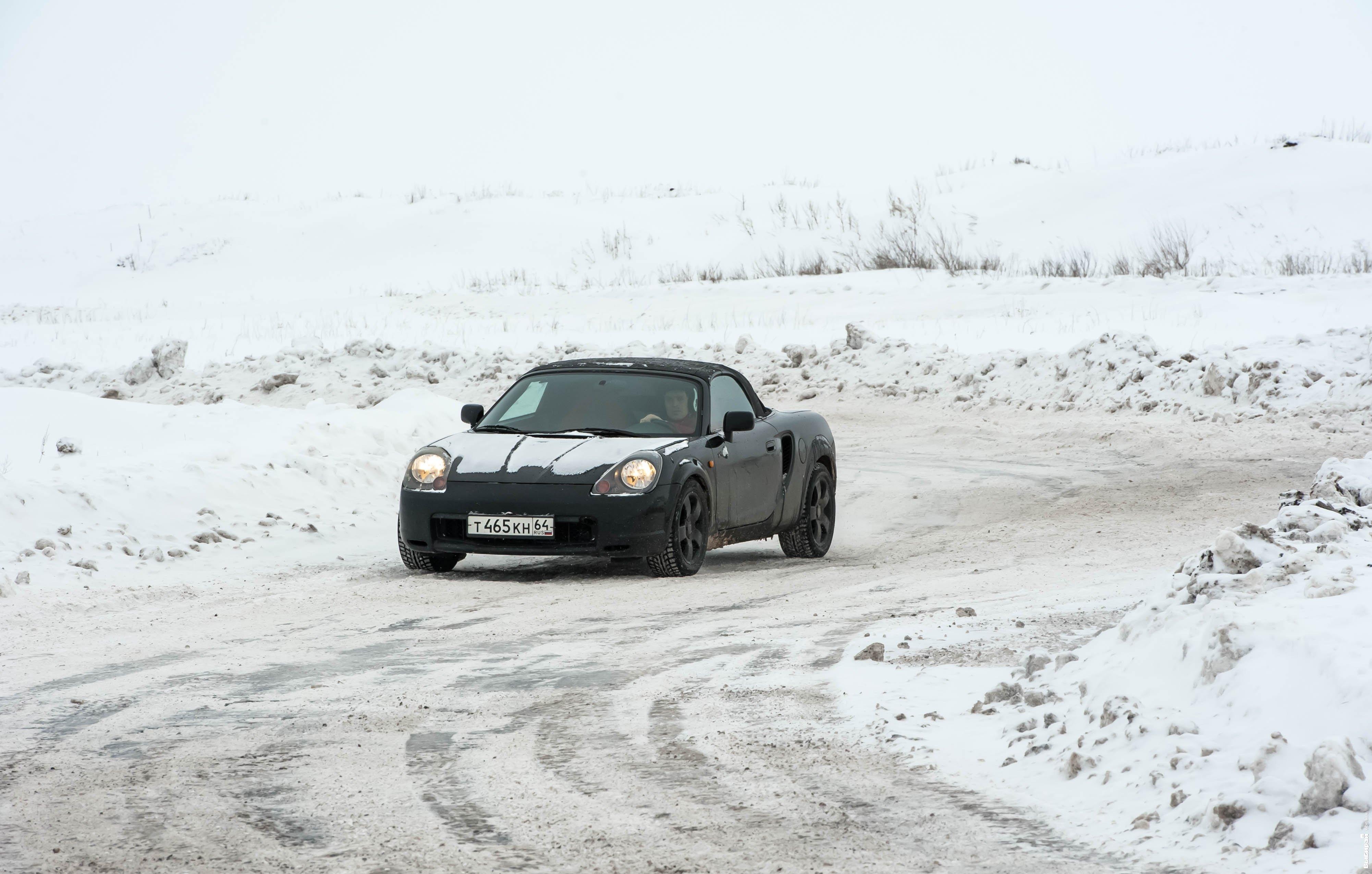 Зимняя гонка фрэнки машины