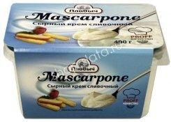 Сыр Маскарпоне, Плавыч Ванночка (400 гр., 6 шт.)