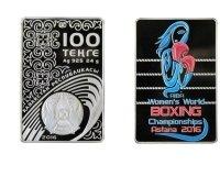 Женщина-боксер появилась на казахстанских монетах