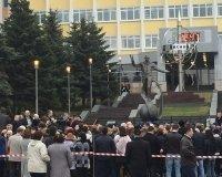 Официально открыли памятник Гагарину