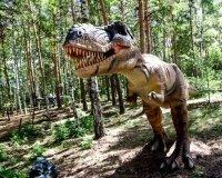 В Челябинском зоопарке начинает работу динопарк