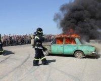Большой праздник пройдет в Парке Победы в честь Дня пожарной охраны России