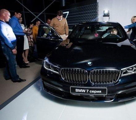 22 апреля дилерский центр «Сибкар» презентовал BMW 7-й серии.