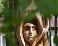 В Савватеевке проходит пятый международный фестиваль деревянной скульптуры «Лукоморье»