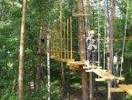 Веревочный парк Sky Park в парке Горького