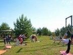 Йога в парке Победы