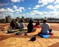 В Казани «Большой физзарядкой» откроют сезон йоги на смотровой площадке «Чаши»