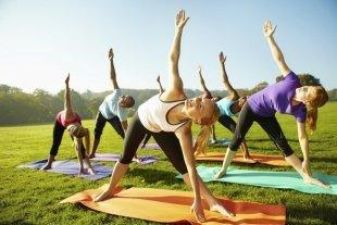 Сезон йоги под открытым небом стартует 5 июня