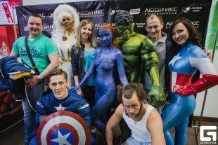 «Люди ИКС» и «Мстители» устроили спортивное шоу в «Горках»