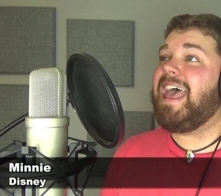 Видео дня: блогер спел «Hello» Адель голосами 30 персонажей Disney и Pixar