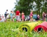 В самарских парках можно будет заняться йогой