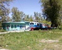 Детская железная дорога снова работает