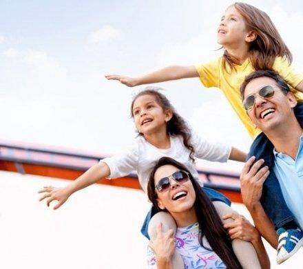 Места для «ленивого» семейного туризма