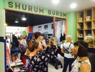 Открытие шоу-рума SHURUM BURUM