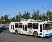 Троллейбусы не будут ходить по Свердловскому проспекту до утра субботы