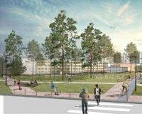В Студгородке появятся 5 новых скверов