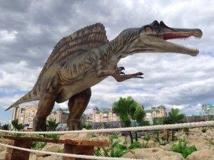 «Юркин парк. Казань Арена» – самый большой парк динозавров в России