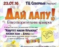 В Сургуте пройдет благотворительная ярмарка в помощь бездомным животным