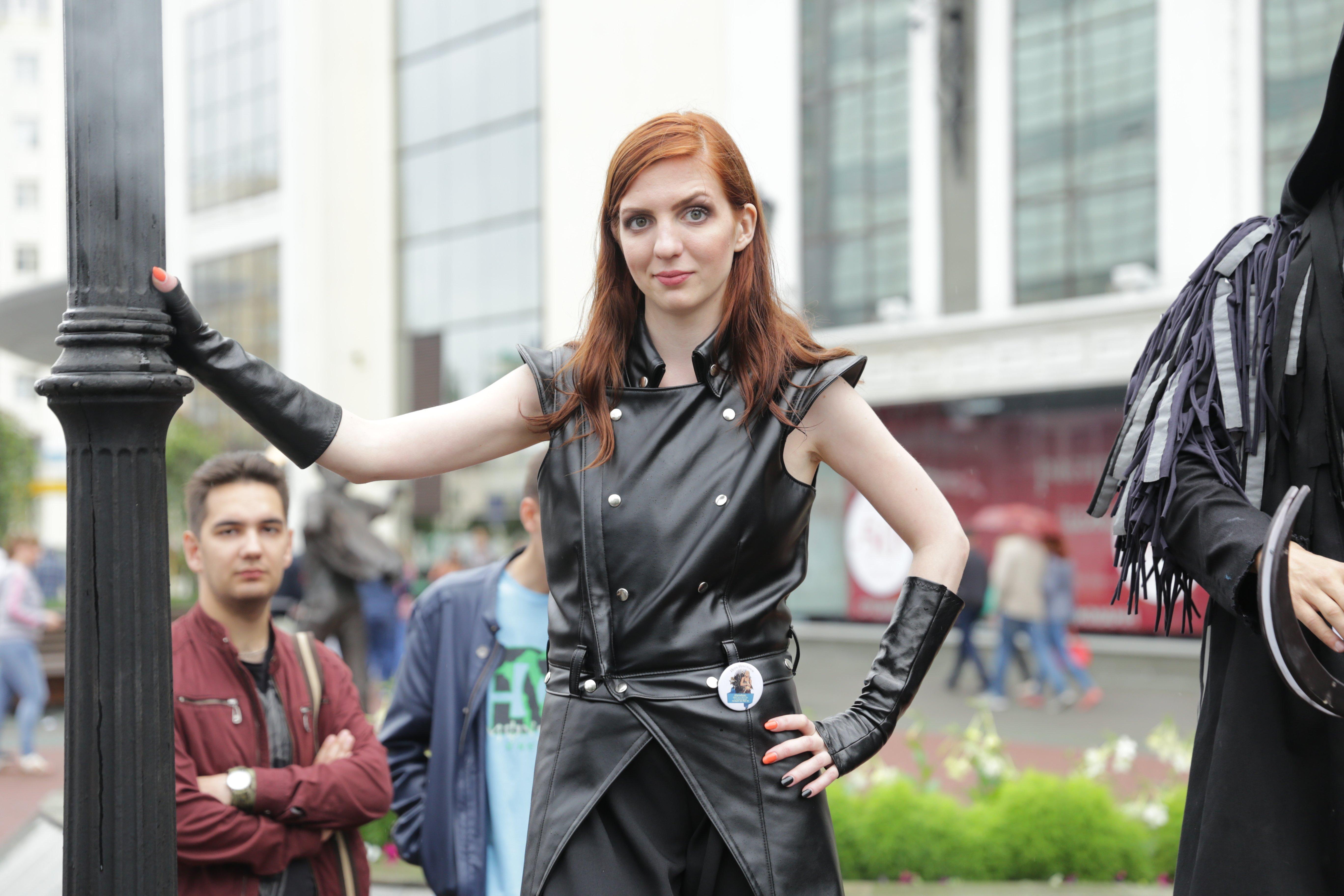 Фото с фестиваля игры престолов