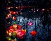 В самарском парке отправят в путь водные фонарики