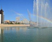 В Казани заработал самый большой фонтан