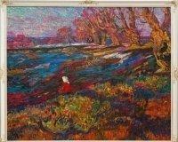 В Самарском художественном музее покажут неизвестные пейзажи Пурыгина