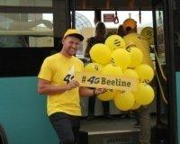 Beeline торжественно запустил 4G в Караганде!
