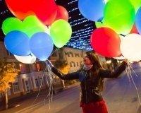 В выходные в Уфе запустят в небо светящиеся шары