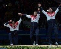 Олимпийские чемпионы Тимур Сафин и Артур Ахматхузин вернулись в Уфу