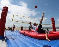 В спорт-парке «Поляна» появилось новая активность