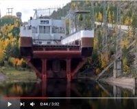 Ролик с работой судоподъемника красноярской ГЭС собрал более 4,6 млн просмотров на YouТube