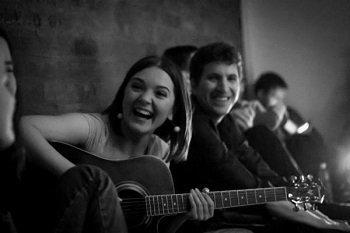 Вечер песен под гитару