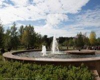 Открывшийся сегодня Сквер газовиков стал подарком сургутянам от ООО«Газпром переработки»
