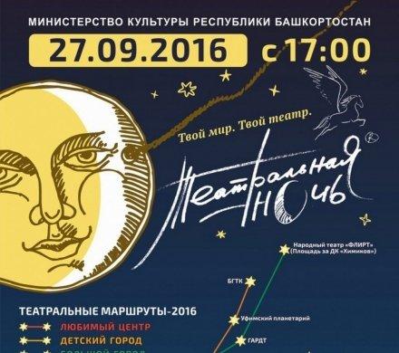 Подробная программа «Театральной ночи-2016»