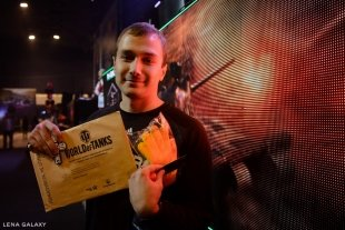 В Челябинске на турнир «Время танков» пришло 2500 человек