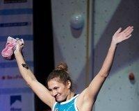 Студентка СФУ победила в чемпионате мира по скалолазанию