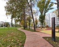 В Казани на улице Академика Парина открыт новый сквер