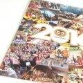 Печатаем календари квартальные на трех белых пружинах, люверсы, курсор