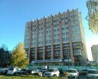Заканчивается ремонт фасада «старого» корпуса БелГУ на ул. Студенческой.