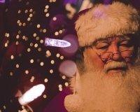 В Красноярск приехал настоящий Дед Мороз