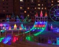 17 декабря откроется ледовый городок «Хрустальная сказка»