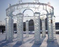На площади Куйбышева появятся ледяные скульптуры