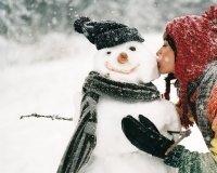 В звенящую снежную даль