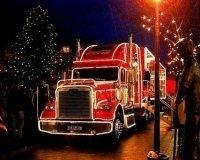 16 и 17 декабря через Челябинск проедет рождественский караван Coca-Cola. Расписание!