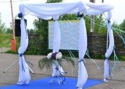 Свадьба за городом с выездной регистрацией
